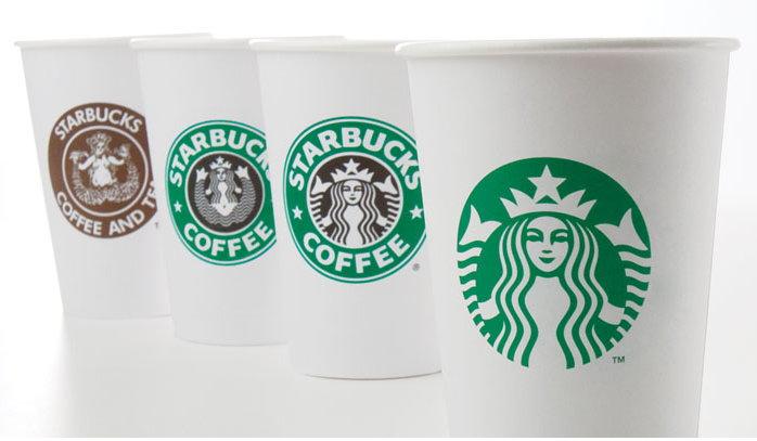Starbucks logoevolution coffee mug markentechnik-blog