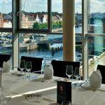 Lübecker Altstadt - Der Blick aus dem Charles & Ray Eames Room der media docks Lübeck