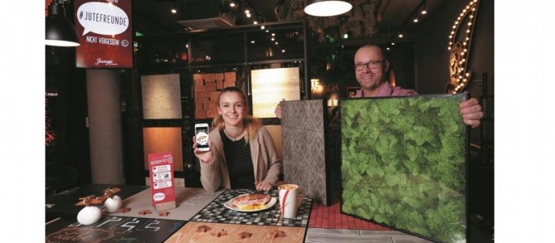 Jung – Die Bäckerei: Social-Media-Tische für perfekte Instagram-Fotos